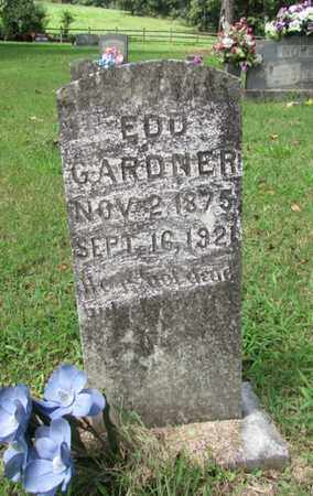 GARDNER, EDD - Lawrence County, Tennessee | EDD GARDNER - Tennessee Gravestone Photos