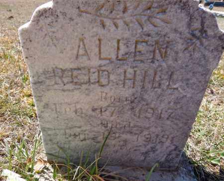 HILL, ALLEN REID - Lawrence County, Tennessee   ALLEN REID HILL - Tennessee Gravestone Photos