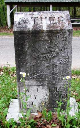 HILL, A. C. - Lawrence County, Tennessee | A. C. HILL - Tennessee Gravestone Photos