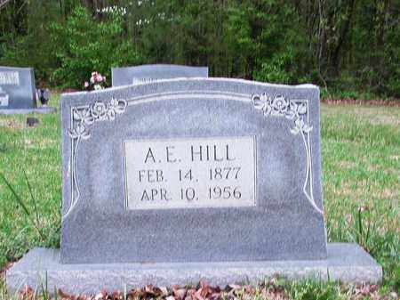 HILL, A. E. - Lawrence County, Tennessee   A. E. HILL - Tennessee Gravestone Photos