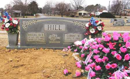 HILL, CORDIE M. - Lawrence County, Tennessee | CORDIE M. HILL - Tennessee Gravestone Photos