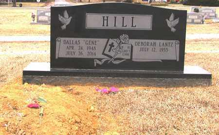 """HILL, DALLAS """"GENE"""" - Lawrence County, Tennessee   DALLAS """"GENE"""" HILL - Tennessee Gravestone Photos"""