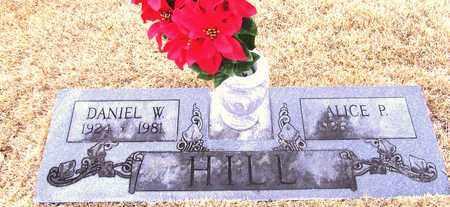 HILL, DANIEL W. - Lawrence County, Tennessee | DANIEL W. HILL - Tennessee Gravestone Photos