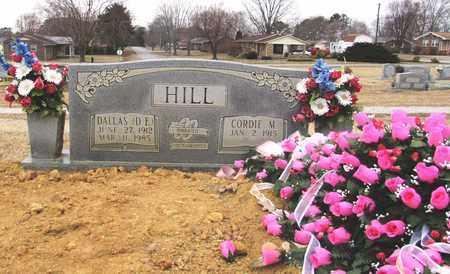 """HILL, DALLAS """"DE"""" - Lawrence County, Tennessee   DALLAS """"DE"""" HILL - Tennessee Gravestone Photos"""