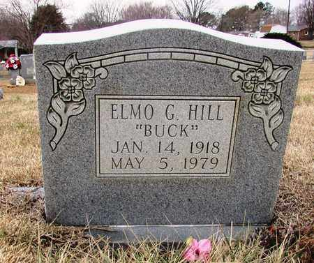 """HILL, ELMO G. """"BUCK"""" - Lawrence County, Tennessee 