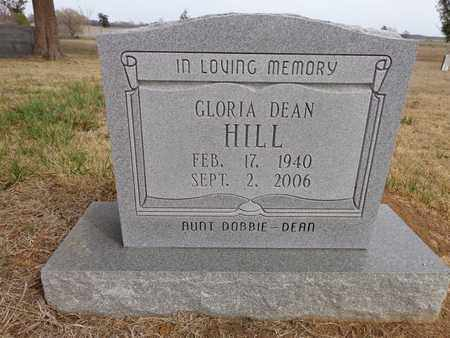 HILL, FLORIA DEAN - Lawrence County, Tennessee | FLORIA DEAN HILL - Tennessee Gravestone Photos