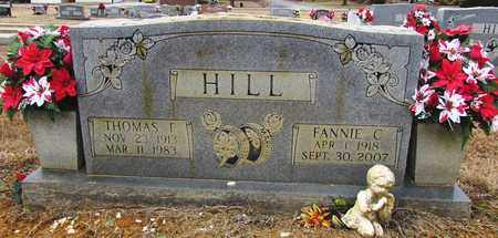 HILL, FANNIE C. - Lawrence County, Tennessee   FANNIE C. HILL - Tennessee Gravestone Photos