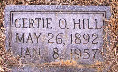HILL, GERTIE O. - Lawrence County, Tennessee   GERTIE O. HILL - Tennessee Gravestone Photos