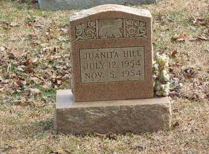 HILL, JUANITA - Lawrence County, Tennessee | JUANITA HILL - Tennessee Gravestone Photos