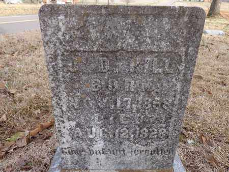 HILL, J. D. - Lawrence County, Tennessee | J. D. HILL - Tennessee Gravestone Photos