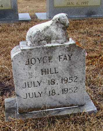 HILL, JOYCE FAY - Lawrence County, Tennessee | JOYCE FAY HILL - Tennessee Gravestone Photos