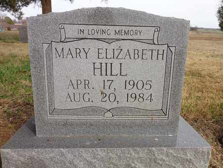 HILL, MARY ELIZABETH - Lawrence County, Tennessee   MARY ELIZABETH HILL - Tennessee Gravestone Photos