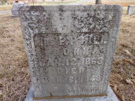 HILL, MRS P. P. - Lawrence County, Tennessee | MRS P. P. HILL - Tennessee Gravestone Photos