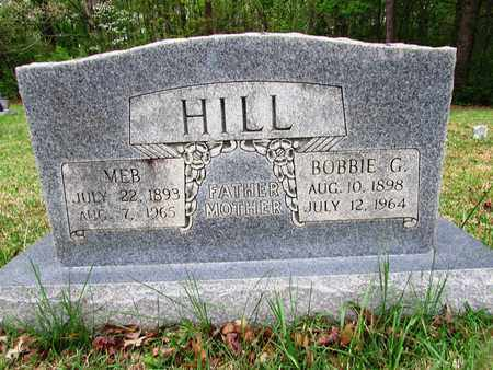 HILL, MEB - Lawrence County, Tennessee | MEB HILL - Tennessee Gravestone Photos