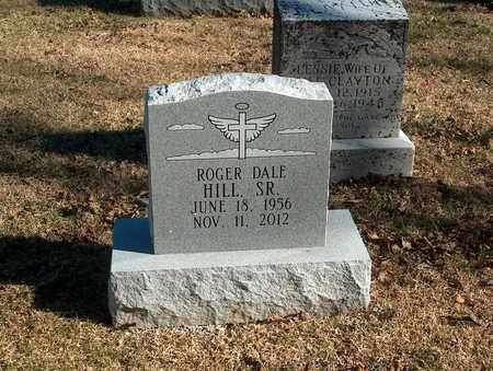 HILL, ROGER DALE SR - Lawrence County, Tennessee | ROGER DALE SR HILL - Tennessee Gravestone Photos