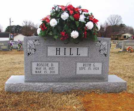 HILL, ROSCOE - Lawrence County, Tennessee | ROSCOE HILL - Tennessee Gravestone Photos