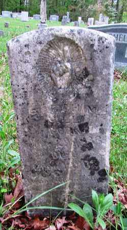 HILL, SARAH M. - Lawrence County, Tennessee   SARAH M. HILL - Tennessee Gravestone Photos