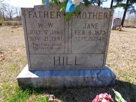 HILL, W. W. - Lawrence County, Tennessee | W. W. HILL - Tennessee Gravestone Photos