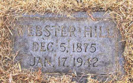 HILL, WEBSTER - Lawrence County, Tennessee   WEBSTER HILL - Tennessee Gravestone Photos