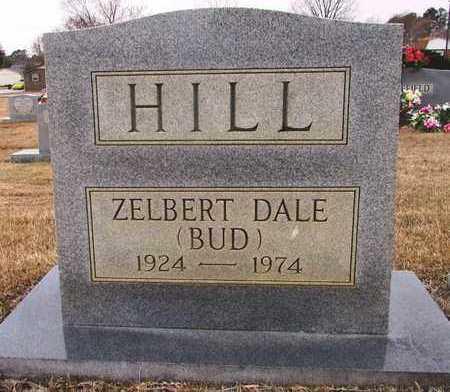 HILL, ZELBERT DALE (BUD) - Lawrence County, Tennessee   ZELBERT DALE (BUD) HILL - Tennessee Gravestone Photos
