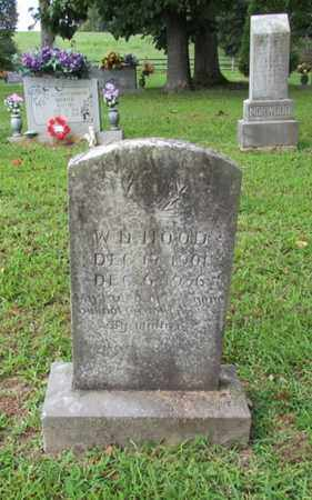 HOOD, W. D. - Lawrence County, Tennessee | W. D. HOOD - Tennessee Gravestone Photos