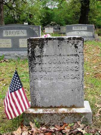 JOHNSON, J. M. - Lawrence County, Tennessee | J. M. JOHNSON - Tennessee Gravestone Photos
