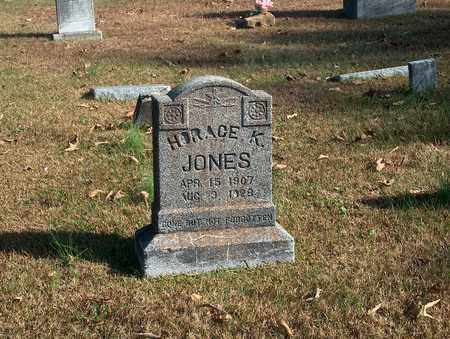 JONES, HORACE  K - Lawrence County, Tennessee   HORACE  K JONES - Tennessee Gravestone Photos