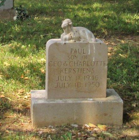 KEERSTIENS, PAUL - Lawrence County, Tennessee | PAUL KEERSTIENS - Tennessee Gravestone Photos
