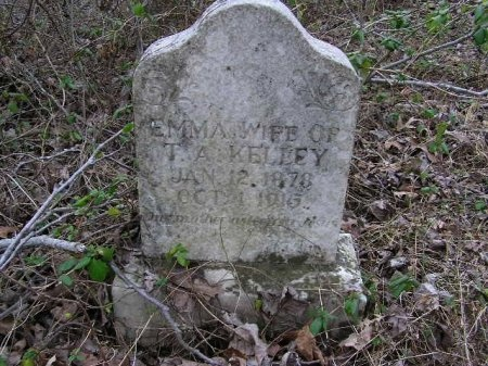 CUNNINGHAM KELLEY, EMMA - Lawrence County, Tennessee | EMMA CUNNINGHAM KELLEY - Tennessee Gravestone Photos