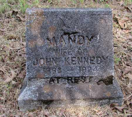 KENNEDY, MANDY - Lawrence County, Tennessee | MANDY KENNEDY - Tennessee Gravestone Photos