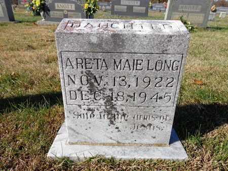 LONG, ARETA MAIE - Lawrence County, Tennessee | ARETA MAIE LONG - Tennessee Gravestone Photos