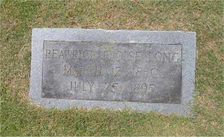 LONG, BEATRICE ELOISE - Lawrence County, Tennessee | BEATRICE ELOISE LONG - Tennessee Gravestone Photos