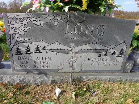LONG, DAVID ALLEN - Lawrence County, Tennessee | DAVID ALLEN LONG - Tennessee Gravestone Photos