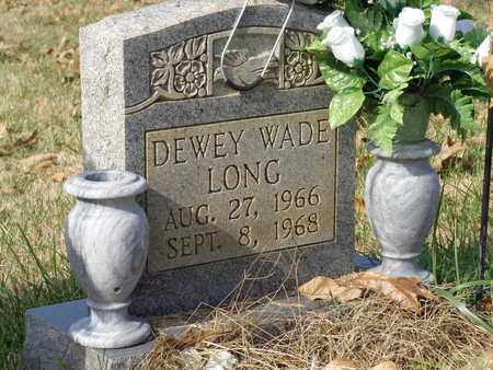 LONG, DEWEY WADE - Lawrence County, Tennessee   DEWEY WADE LONG - Tennessee Gravestone Photos