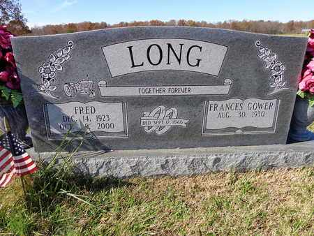 LONG, FRED - Lawrence County, Tennessee | FRED LONG - Tennessee Gravestone Photos