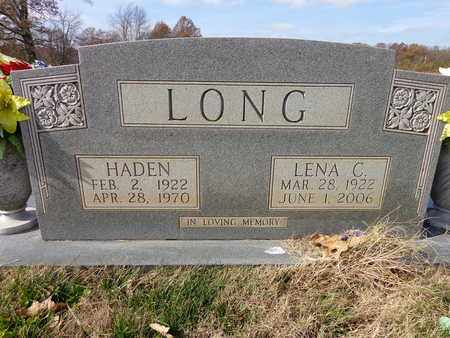 LONG, LENA C - Lawrence County, Tennessee | LENA C LONG - Tennessee Gravestone Photos