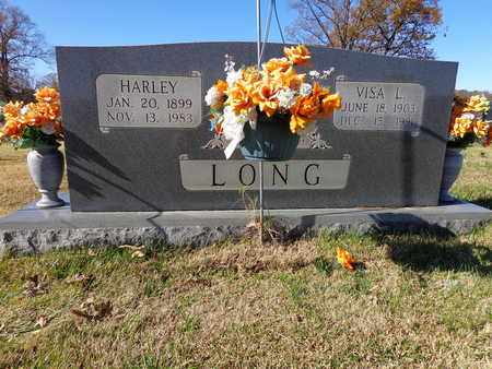 LONG, VISA L - Lawrence County, Tennessee   VISA L LONG - Tennessee Gravestone Photos