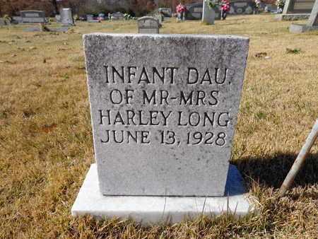 LONG, INFANT - Lawrence County, Tennessee | INFANT LONG - Tennessee Gravestone Photos