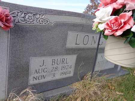 LONG, J BURL - Lawrence County, Tennessee | J BURL LONG - Tennessee Gravestone Photos