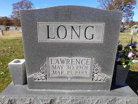 LONG, LAWRENCE - Lawrence County, Tennessee   LAWRENCE LONG - Tennessee Gravestone Photos