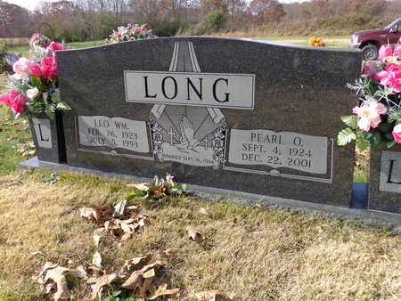 LONG, PEARL O - Lawrence County, Tennessee | PEARL O LONG - Tennessee Gravestone Photos
