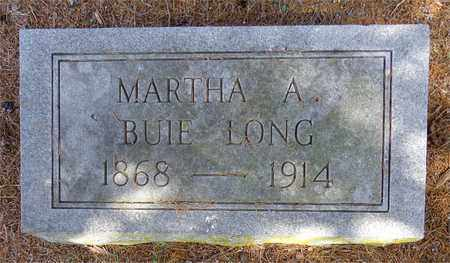 LONG, MARTHA A. - Lawrence County, Tennessee | MARTHA A. LONG - Tennessee Gravestone Photos