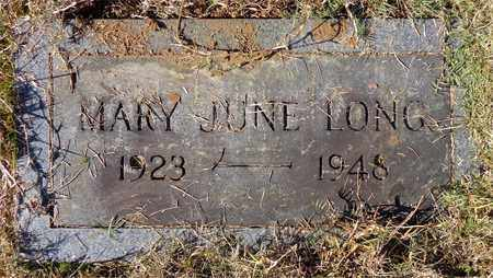 LONG, MARY JUNE - Lawrence County, Tennessee | MARY JUNE LONG - Tennessee Gravestone Photos