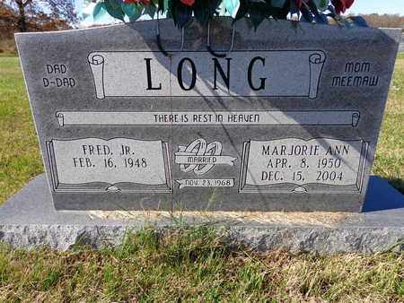 LONG, MARJORIE ANN - Lawrence County, Tennessee | MARJORIE ANN LONG - Tennessee Gravestone Photos