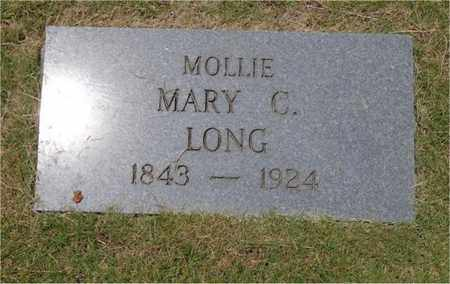 """LONG, MARY C. """"MOLLIE"""" - Lawrence County, Tennessee 