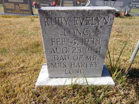 LONG, RUBY EVELYN - Lawrence County, Tennessee | RUBY EVELYN LONG - Tennessee Gravestone Photos