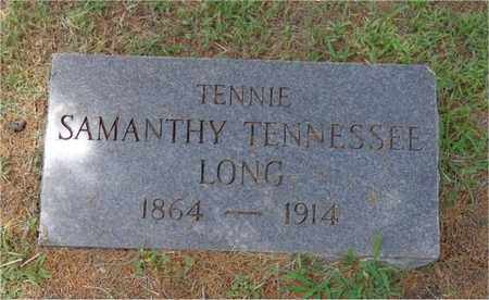 """LONG, SAMANTHY TENNESSEE """"TENNIE"""" - Lawrence County, Tennessee 