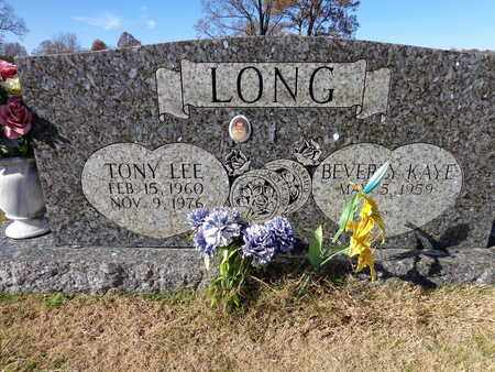 LONG, TONY LEE - Lawrence County, Tennessee | TONY LEE LONG - Tennessee Gravestone Photos