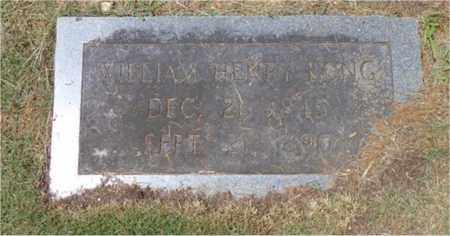 LONG, WILLIAM HENRY - Lawrence County, Tennessee | WILLIAM HENRY LONG - Tennessee Gravestone Photos