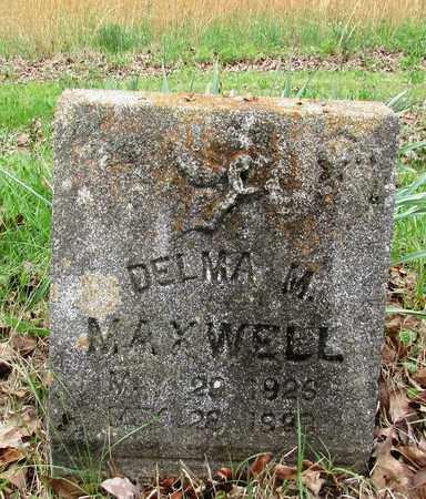 MAXWELL, DELMA M. - Lawrence County, Tennessee | DELMA M. MAXWELL - Tennessee Gravestone Photos
